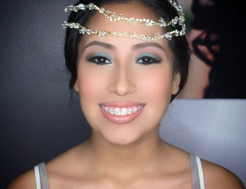 Quincenera makeup and hair